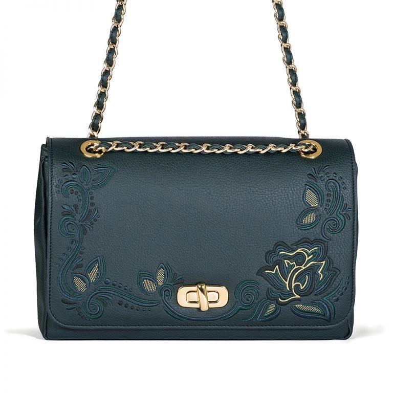 001_The Queen Bag_shoulder-bag2_green copie