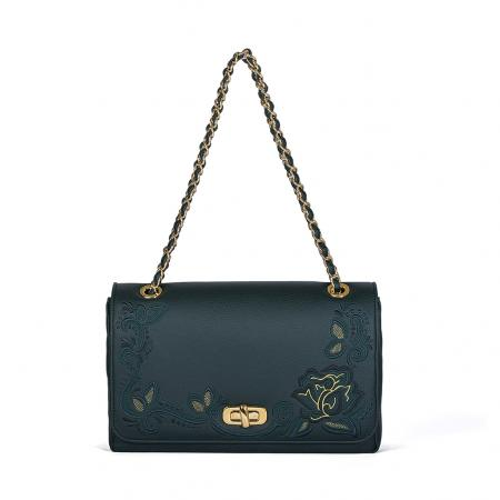 001_The Queen Bag_side 1_green