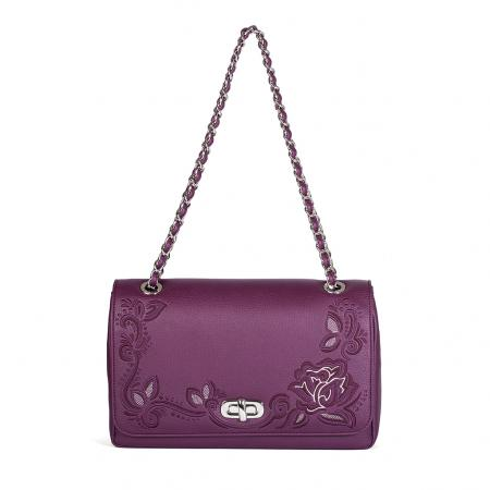 004_The Queen Bag_side 1_purple